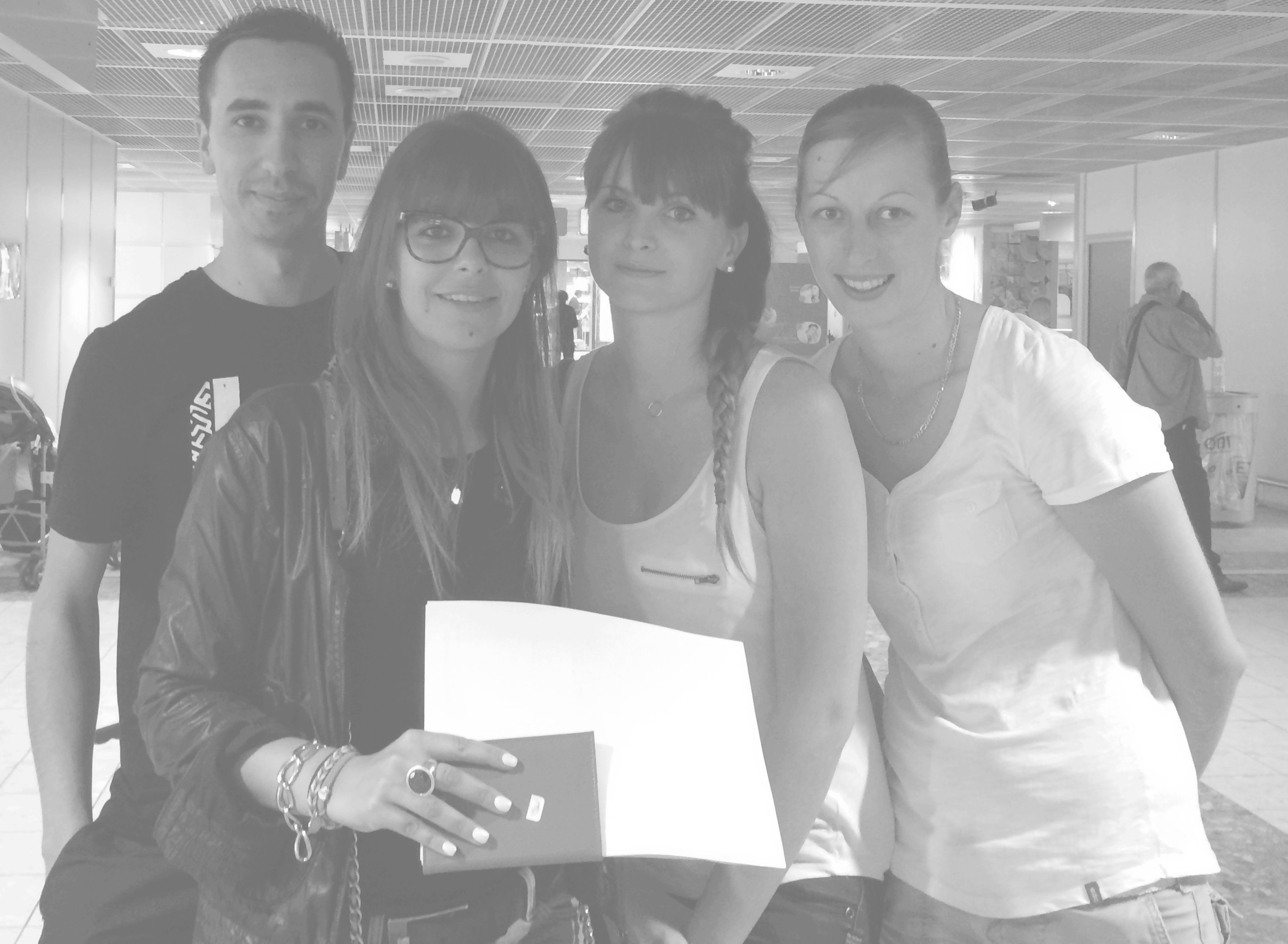 July 1st 2014, Marseille Airport.